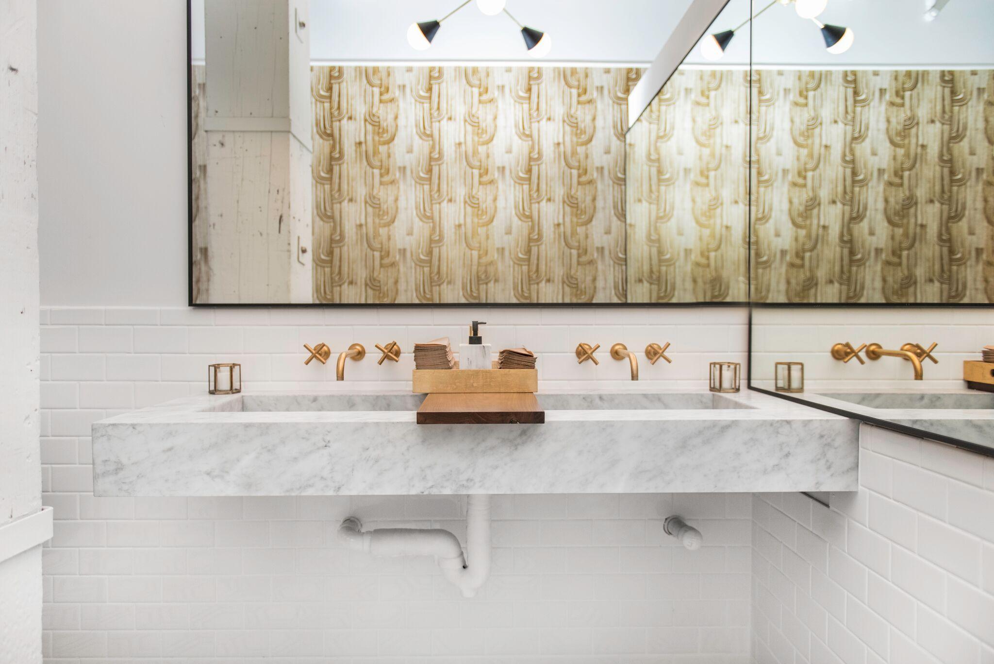 Carrara Custom Sink